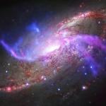M106 à travers le spectre électromagnétique