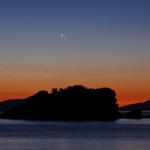Vénus et Jupiter à l'aube