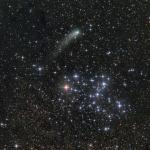 La comète Siding Spring et Messier 6
