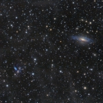 Galaxies dans Pégase