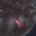 Eruption solaire au piqué exceptionnel