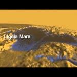 Vol au-dessus des lacs de Titan