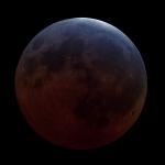 Pleine Lune dans l'ombre de la Terre