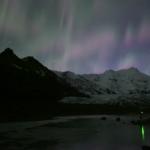 Aurores pulsantes sur l'Islande
