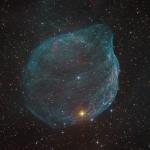 Sharpless 308, bulle d'étoile