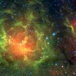 La Trifide en infrarouge