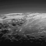Fantastique paysage de Pluton