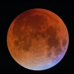 Une Lune de sang bleu