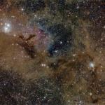 Poussières d'étoiles dans Persée
