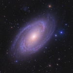 La brillante galaxie spirale M81