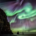 Aurores polaires et légendes en Islande
