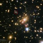 Première prévision d'une série d'images de supernova