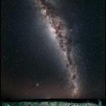 Le champ de cratères de Henbury