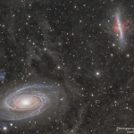 M81 contre M82, la guerre des galaxies