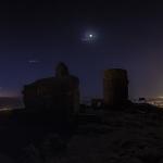 Cinq planètes sur le Castell de Burriac