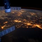 La Mégalopole de la Côte Est vue de l'espace