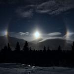 Gardes de la Lune en Alaska