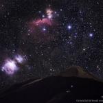 Orion sur la montagne