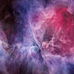 La nébuleuse d'Orion dans le visible et l'infrarouge