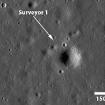 L'ombre de Surveyor 1
