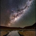 Une nuit sur l'Altiplano chilien