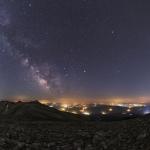 Planètes d'été et Voie lactée