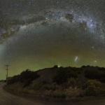 Ciel mystérieux au-dessus de l'Argentine