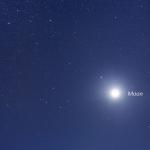 Cinq planètes et une lune sur l'Australie