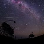 Rayons gamma et poussière de comète