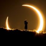 Eclipse annulaire au-dessus du Nouveau-Mexique