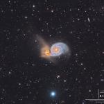 La galaxie du Tourbillon et au-delà