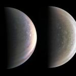 Le Nord et le Sud de Jupiter