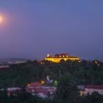 Pleine Lune sur Brno
