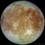 Europe, la lune de Jupiter vue par la sonde spatiale Galileo