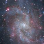 Les nuages d'hydrogène ionisé de M33