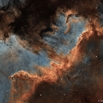 Le mur de formation stellaire du Cygne
