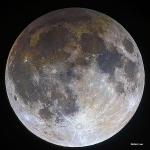 La Lune, un jour d'éclipse