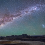 Galaxies sur l'Altiplano chilien
