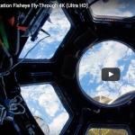 Flotter à bord de l'ISS