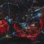 Noms d'étoiles dans Orion