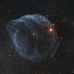 Sharpless 2-308, une bulle dans le Grand Chien