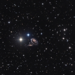 Les galaxies particulières de Arp 273