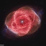 La nébuleuse de l'Oeil de Chat vue par Hubble