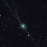 Trois queues pour la comète Encke