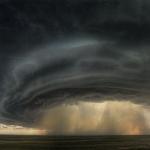 Supercellule orageuse sur le Montana