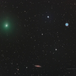 La comète, le hibou et la galaxie