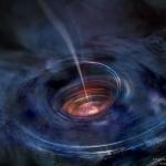 Jet et disque d'accrétion au voisinage d'un trou noir
