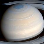 Saturne vue dans l'infrarouge par Cassini