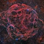 Simeis 147 : rémanent de supernova