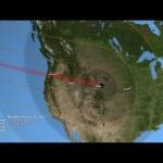 L'éclipse à travers l'Amérique : prévision du chemin